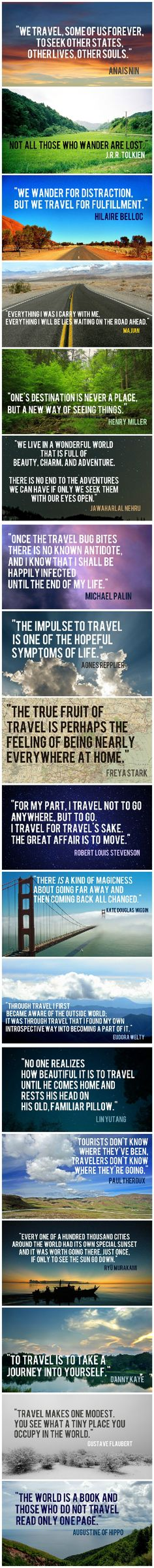 Travel Quotes To Feed Your Sense Of Wanderlust