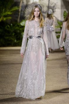 Elie Saab Couture Showed Victorian Princess Gowns With a Contemporary Twist - Fashionista
