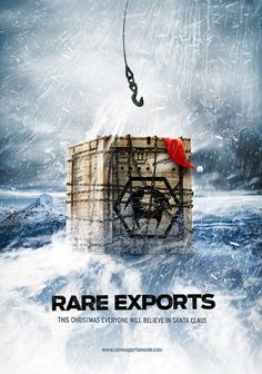 "Rare Exports: A Christmas Tale R-rated Santa Claus origin story crossed with ""The Thing"" (1982)? Apart from the inescapable that the movie has Santa and reindeer in it, this is a superior horror film, a spot-on parody of movies about dead beings brought back to life."