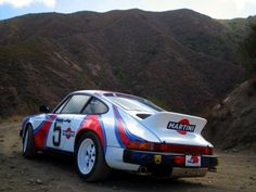 1983 Porsche 911SC Martini Safari  Rally Bjorn Waldegard Tribute Rear