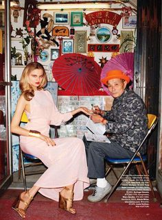 Harper's Bazaar US took Magdalena Frackowiak as their Model in March 2011 editorial shoot by Terry Richardson and styled by Mel Ottenberg Magdalena in this shoot wearing Roberto Cavalli, Fendi and Donna Karan in Chic Easy Pieces. Vogue Editorial, Editorial Fashion, Magdalena Frackowiak, Terry Richardson, Bazaars, Under Dress, Harpers Bazaar, Donna Karan, Roberto Cavalli