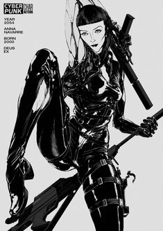 This poster series is dedicated to the fundamental characters which shaped CYBERPUNK genre culture. From books, over movies, to the games. Arte Cyberpunk, Cyberpunk 2077, Art Et Illustration, Graphic Design Illustration, Anime Art Girl, Manga Art, Mode Latex, Arte Sci Fi, Arte Robot