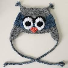 crochet owl hat pattern - Google Search