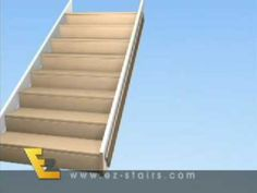 Charming How To Build Stairs That Are Easy To Install Yourself With The EZ Stairs  Video