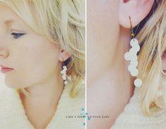 confetti earrings!