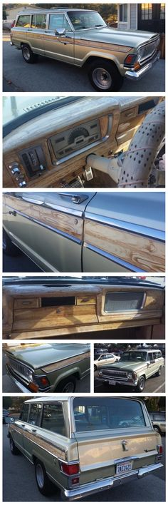 1971 Wagoneer with hand painted wood trim. http://fsjnetwork.com/forum/viewtopic.php?p=80898