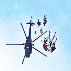 #sky #freedom #skydiver