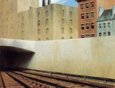Edward Hopper (1882-1967)  Approaching the City