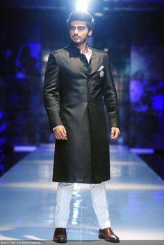 Arjun Kapoor walks for Satya Paul at Delhi Couture Week 2013