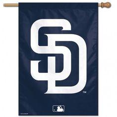 San Diego Padres ... http://www.757sc.com/products/san-diego-padres-banner-28x40-vertical-alternate-design-cdg?utm_campaign=social_autopilot&utm_source=pin&utm_medium=pin #nfl #mlb #nba #nhl #ncaaa #757sc
