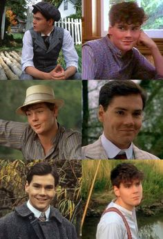 Jonathan Crombie as Gilbert Blythe - Anne of Green Gables and Anne of Avonlea.