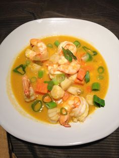 seafood chowder dun closeup