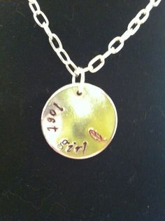 Peter Pan Lost Girl Necklace by DinglehopperDesigns on Etsy, $12.00