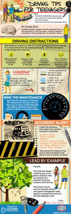 Driving Tips for Teenagers and Adults!  #teens #driving #adults #tips #roadrules