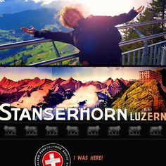 Patty from Oregon (United States) was here on the Stanserhorn ... Welcome in #Stanserhorn #Luzern #Nidwalden #Love #Pinterest! Enjoy #Schweiz #Suisse #Svizzera #Svizra and #Switzerland #SwissSelfie - «Hier genießen wir Schweiz»