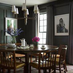 Brett Heyman's Connecticut Home #diningroom