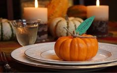 Thanksgiving Table Ideas: 10 Simple & Festive Place Cards | Apartment Therapy