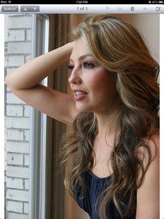 Thalia Sodi. Love her hair!