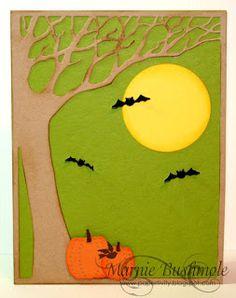 Halloween Woodland Tree by Marnie Bushmole - Outside The Box