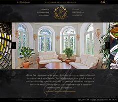 Сайт витражной мастерской www.glassvit.ru