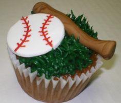 How To Make Baseball Cupcakes: Baseball Cupcake Ideas ~ CupCake Inspiration Baseball Birthday, Baseball Party, Baseball Cupcakes, Cupcake Ideas, Brunch, Baby Shower, Dinner, Desserts, How To Make