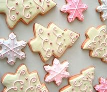 Inspiring picture christmas, cookies, cream, cute, pink. Resolution: 500x374 px. Find the picture to your taste!