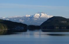 Mount Arrowsmith from Sproat Lake Central Island, Vancouver Island, Hiking, Ocean, River, Adventure, Mountains, Medium, Nature