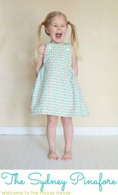 Welcome to the Mouse House: The Sydney Pinafore: Free Pattern and Tutorial