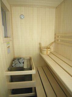 Small sauna - so CUTE!
