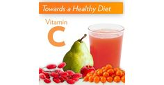 """""""Our bodies are not able to make or store vitamin C. You need to get it from your diet.  You can find plenty of vitamin C in the exotic wolfberry, sea buckthorn or acerola, or even closer to home in pear."""""""