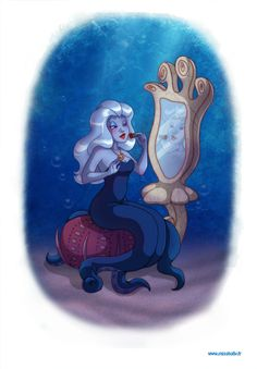 Illustrations du monde en Disney par Hollybell