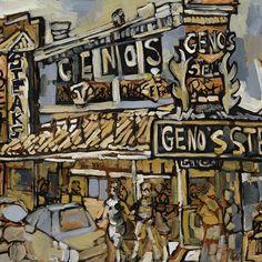 Genos Cheesesteak, Italian Market Philadelphia