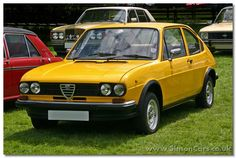 Alfa Romeo opened a factory in southern italy at Pomigliano d'Arco and called the products from there 'Alfa South' (Alfasud).  The first product was a front wheel drive 'supermini' developed by  Rudolf Hruska around an 1186cc flat-four engine, wrapped in a body by ItalDesign's  Giorgetto Giugiaro at the 1971 Turin Show.  Alfasuds were 4-door non-hatchback cars, but in 1973 a sporty 2-door TI model was added, and in 1975 a 5-door estate car 'Giardinetta'.  The Alfasud Sprint coupe