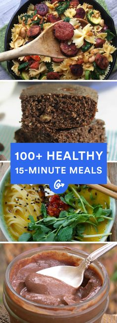 Super speedy meals everyone will love #healthy #easy #recipes http://greatist.com/eat/healthy-meals-ready-15-minutes-or-less