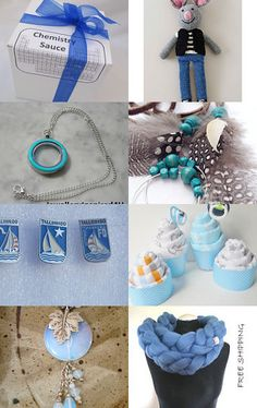 Blue by Oksana on Etsy--Pinned with TreasuryPin.com