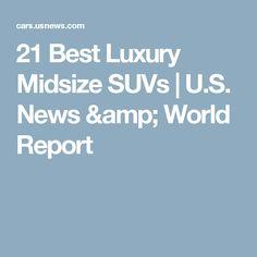 21 Best Luxury Midsize SUVs | U.S. News & World Report