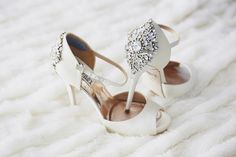 25 Stylish Wedding Shoes Worn by Real Brides Wedding Dress Trends, Wedding Shoes, Wedding Ideas, Wedding Planning, Wedding Inspiration, Blue Cowboy Boots, Octagon Girls, Badgley Mischka Shoes Wedding, Bridal Heels