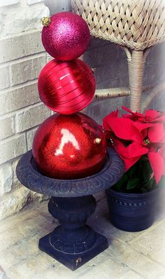 Orangie's Attic: Seussical Sunday... Holiday Topiary even the Grinch would love!