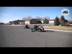 Motorized Big Wheel Drift Trike - Deadeye Drifters