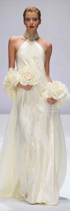 Bridal Gowns, Wedding Gowns, Ivory Wedding, Wedding Attire, Mode Glamour, White Fashion, Women's Dresses, Elie Saab, Beautiful Gowns