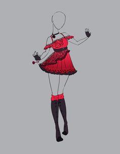 .::Outfit Adopt 10 (CLOSED)::. by Scarlett-Knight.deviantart.com on @deviantART
