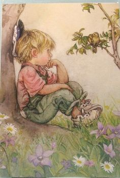 Lisi Martin.  Another one of those wonderful pictures.  Lazy peaceful summer days.