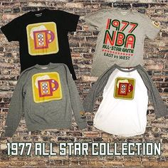 Find the Mitchell & Ness X Bucks '1977 All-Star' collection in-store while supplies last...$45-$75. Phone orders welcome at 414-273-3333. Don't sleep cause sizes are flying outta here quick! #mitchellandness #allstargame #bucks #MODA3 #milwaukee #1977 #streetwear #NBA #allstarcollection