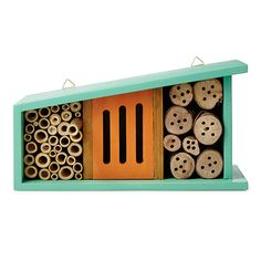 Provide a home to pollinators and pest controllers by sheltering nature's little do-gooders in this sweet bug house.