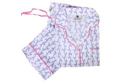 Vivienne Pajama Set, Lavender size L - I do like pajamas with no elastic in the waistband