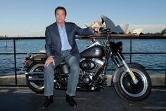 SYDNEY, AUSTRALIA - JUNE 04:  Arnold Schwarzenegger poses during a 'Terminator Genisys' photo call at the Park Hyatt Sydney on June 4, 2015 in Sydney, Australia.  (Photo by Mark Metcalfe/Getty Images for Paramount Pictures International)