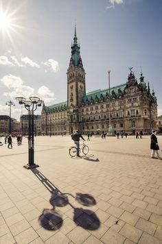 Hamburg, Germany - am 8. Juli geht das Abenteuer los!!