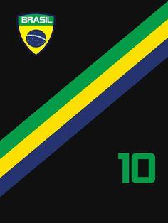 3ac50415206bf Brazil World Cup Jersey Shirt Futebol Brasil Team Soccer by 7United Brasil