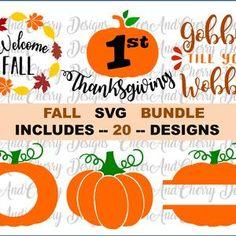autumn fall pumpkin Sihouette Cameo girl PNG brown Cricut November JPEG thanksgiving SVG Little Miss Thankful Cut File Vector