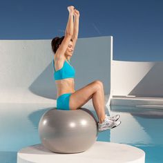 Jack and Tuck: This exhilarating fitness-ball-based move tones ab muscles by making them work hard to keep you balanced on the ball. And it not only sculpts your core but also targets the fat covering the muscles in that area. | Health.com